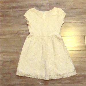 🌹Lace Floral Dress